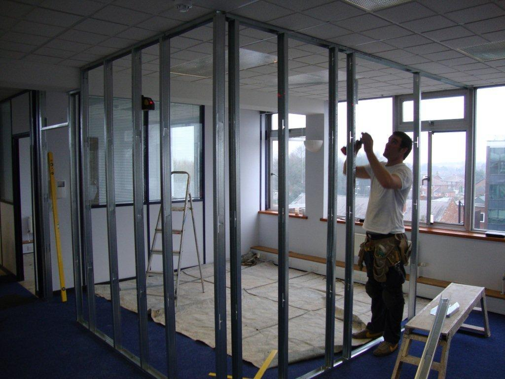 Timber Amp Metal Stud Partition Walls