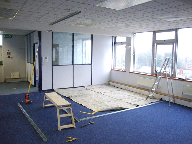 partition wall – layout