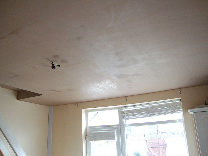 suspended ceiling skimmed