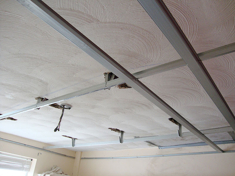 framework for suspended ceiling